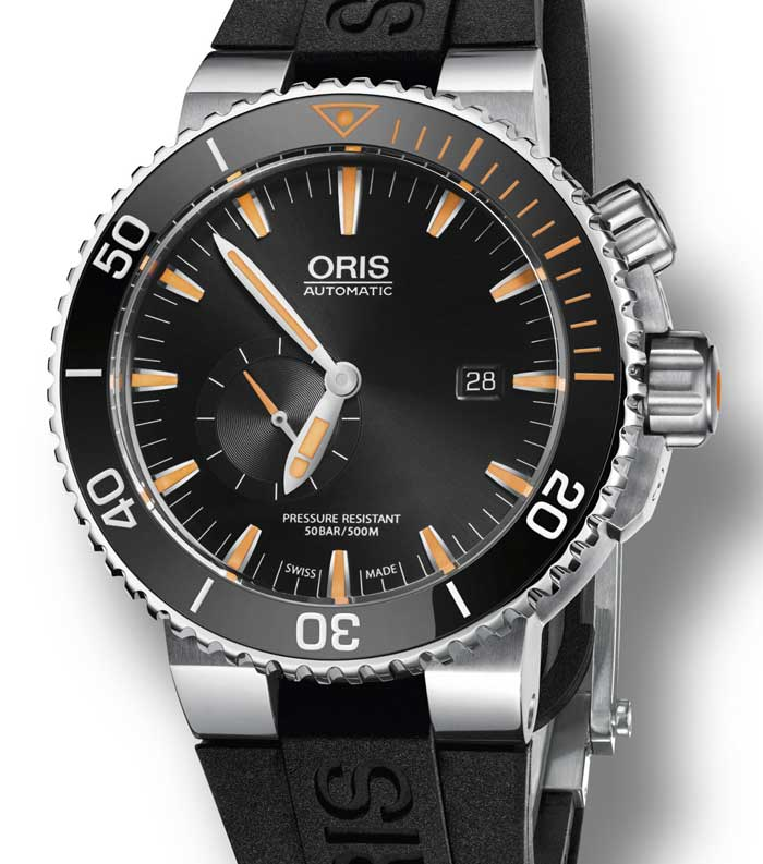 Oris Carlos Coste Limited Edition IV : plongeuse extrême