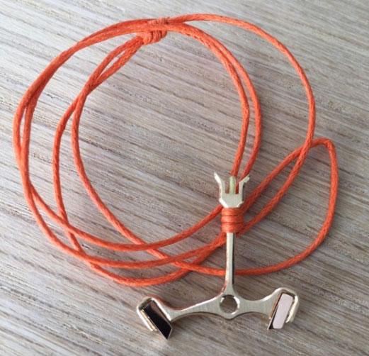 Kronomark : le bracelet ancre d'échappement de Marc Alfieri