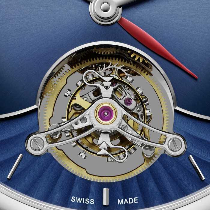 Moser Venturer Tourbillon Dual Time : cadran bleu nuit et fonction GMT... si je veux !