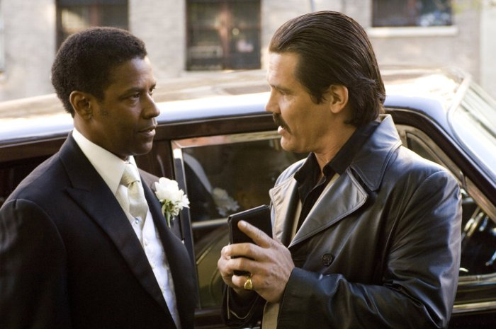 American Gangster, Denzel Washington et Josh Brolin, DR