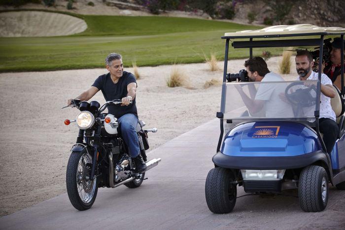 Omega : nouvelle campagne avec Georges Clooney pour la Speedmaster'57