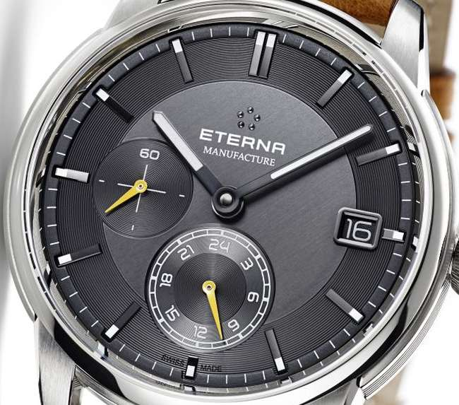 Eterna Adventic GMT Manufacture