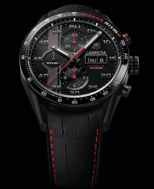 "TAG Heuer Carrera Calibre 16 Chronographe Day-Date ""Nismo"" : vive Le Mans"