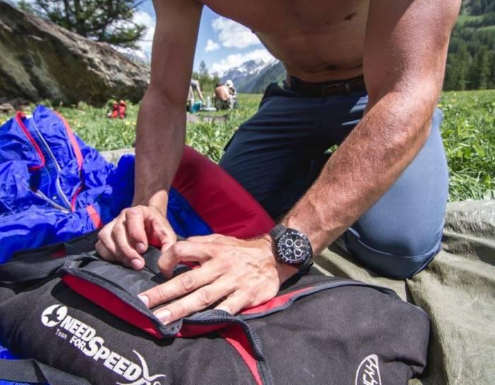 Don't crack under pressure : le nouveau film de TAG Heuer sur les sports extrêmes