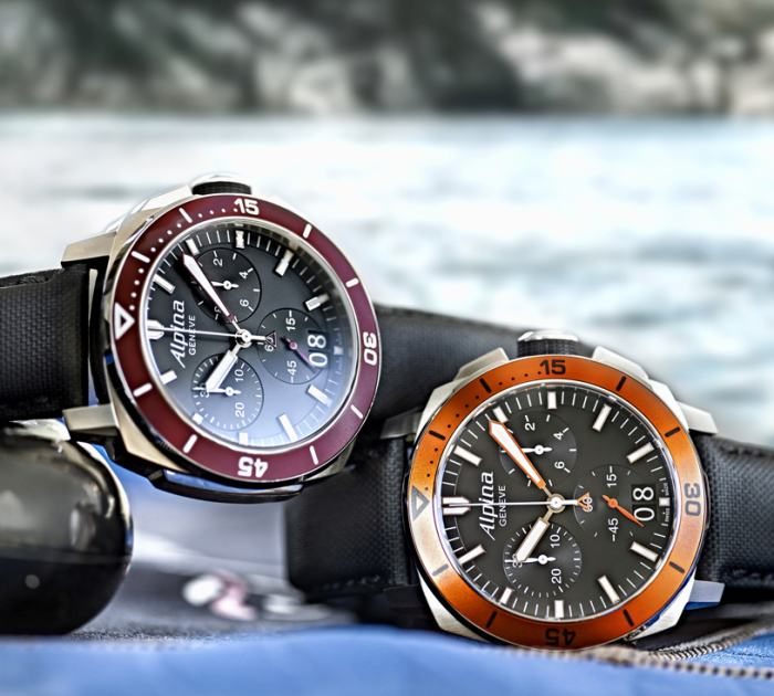 Alpina Seastrong Diver 300 Chronographe Big Date