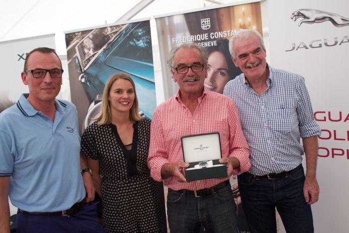 Golf : Frédérique Constant sponsor de la Jaguar Cup 2015
