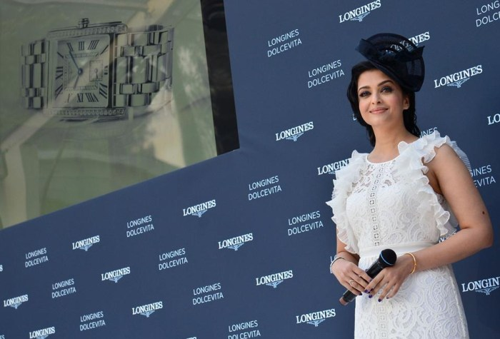 Aishwarya Rai Bachchan pour Longines