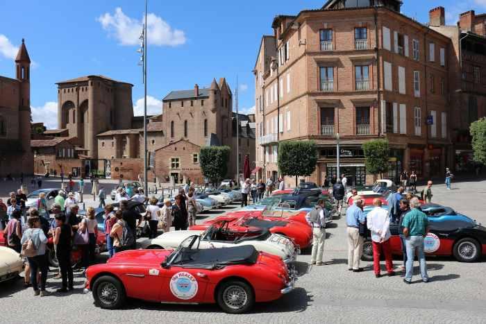 Rallye Occitania : le club Healey roule aux couleurs de Frédérique Constant