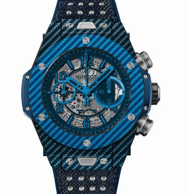 Hublot : in the mood for blue