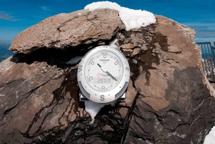 Horloge Tissot T-Touch : l'heure au sommet