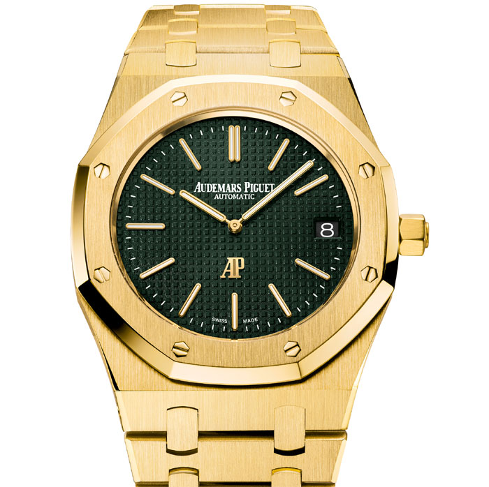 Audemars Piguet Royal Oak Extra-Plate The Hour Glass : quand le mythe acier se fait or jaune
