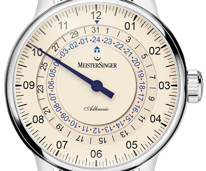 MeisterSinger Adhaesio GMT