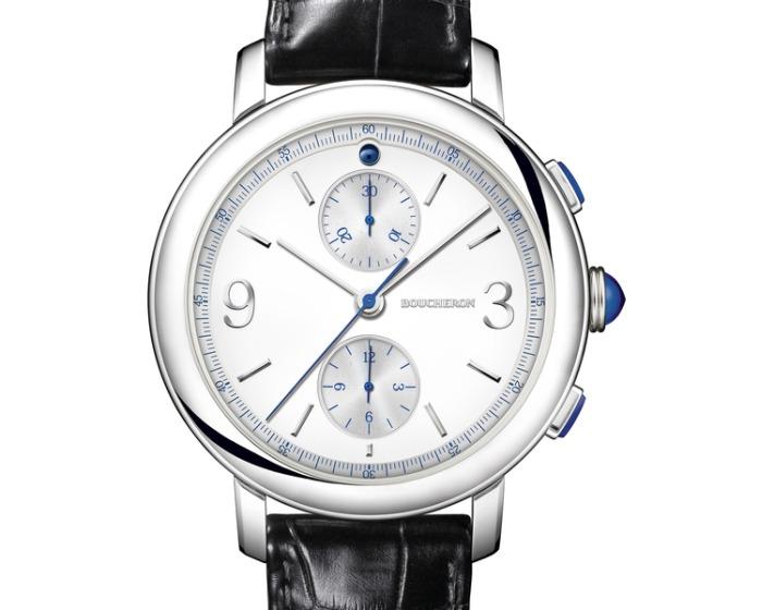 Boucheron Epure en acier : une belle montre de joaillier