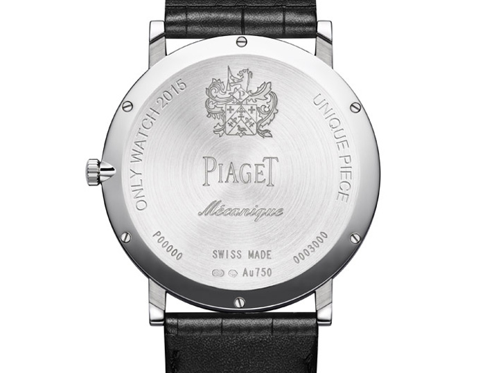 Piaget Altiplano Only Watch 2015
