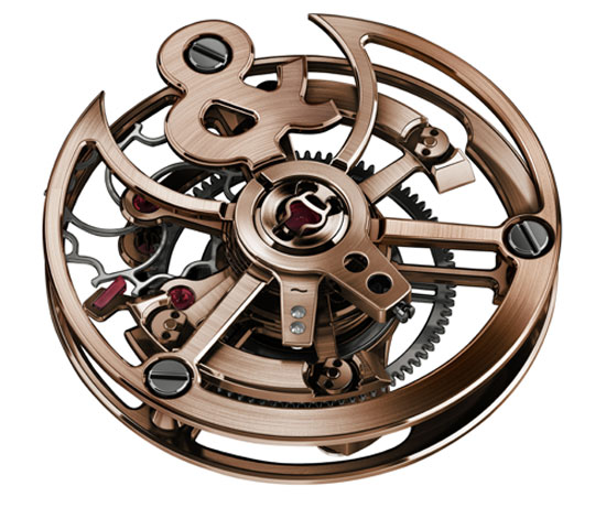 Bell&Ross BR 01 Skull Bronze Tourbillon Only Watch 2015