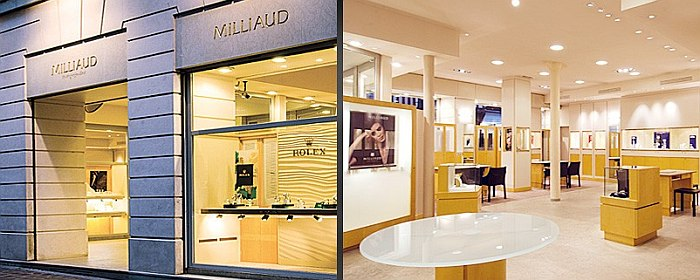 Rouen : Milliaud horloger-joaillier depuis 1883