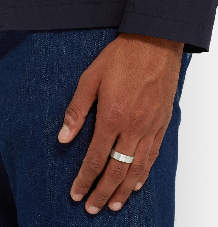 Le Gramme : des bagues en argent pour hommes... au gramme près
