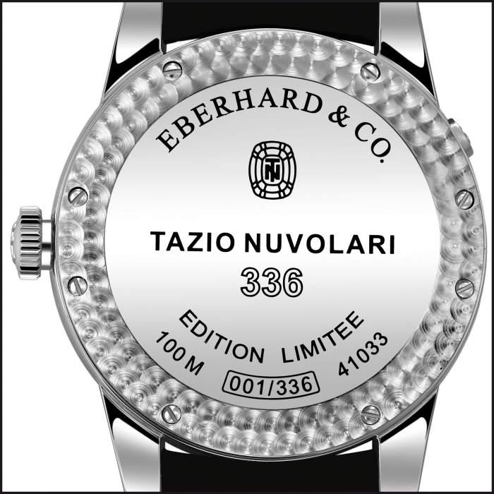 Eberhard Tazio Nuvolari 336 : arrivée d'un dual time en collection
