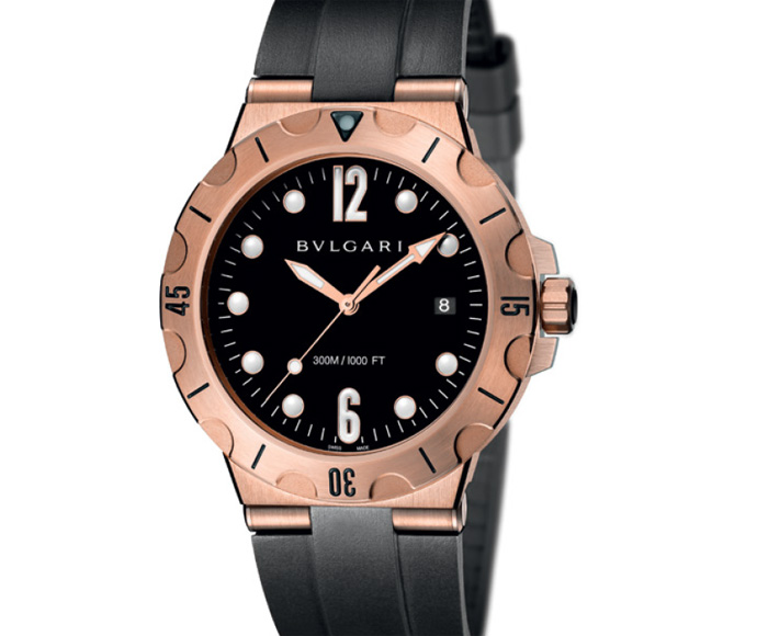 Bulgari Diagono Scuba or rose