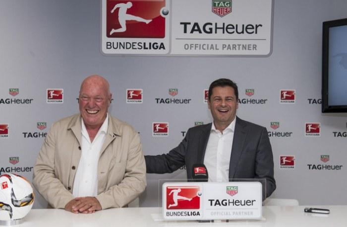 TAG Heuer : chronométreur officiel de la Bundesliga