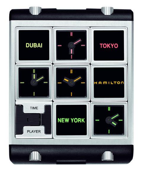 Réinterprétation de la montre de 2001 l'Odyssée de l'espace