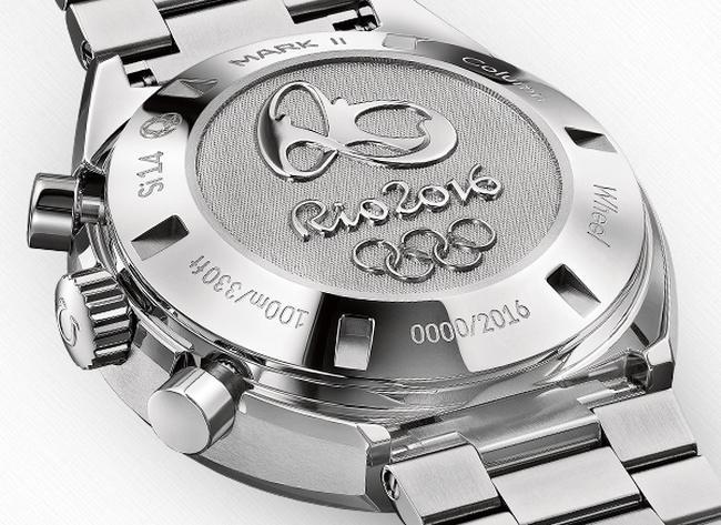 Omega Speedmaster Mark II Rio 2016 : or, argent et bronze au compteur
