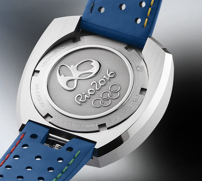 Omega Seamaster Bullhead Rio 2016 : aux couleurs olympiques