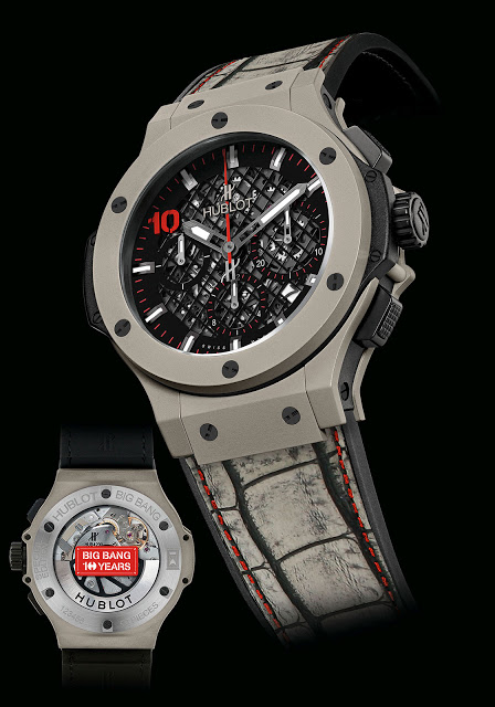 Hublot Big Bang Red Dot : 10 ans de Big Bang et 50 ans de Singapour