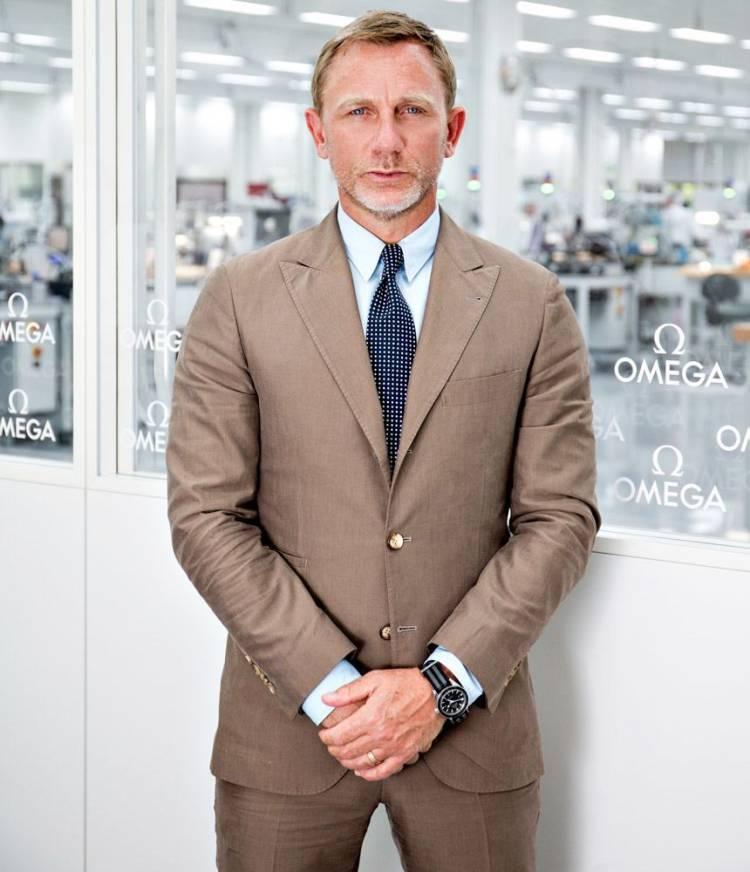 Daniel Craig et Omega pour Le Spectre