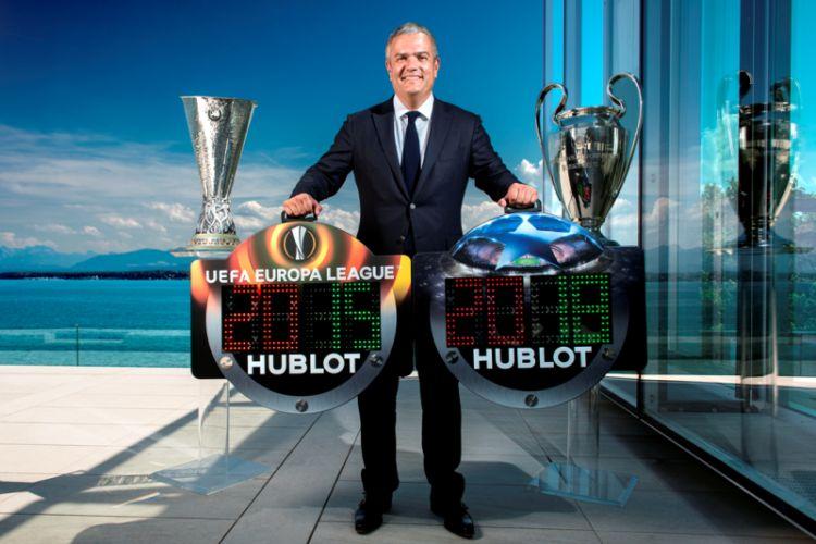 Hublot sponsor de l'UEFA