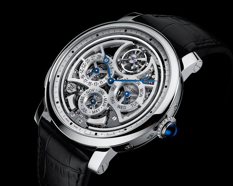 Rotonde Cartier Grande Complication : une montre, trois complications