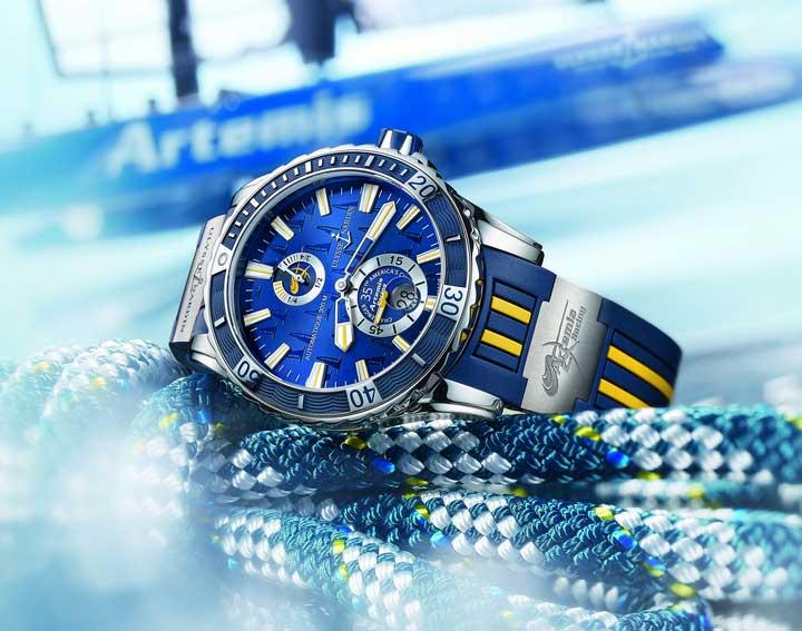 Ulysse Nardin Marine Diver Artemis Racing