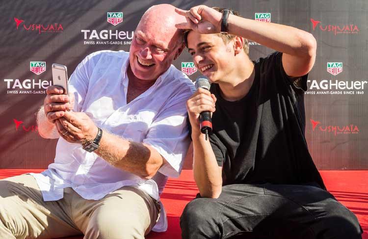 Jean-Claude Biver et Martin Garrix