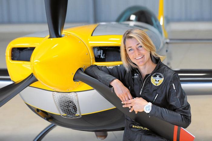 Breitling : Aude Lemordant, 2ème titre de championne du monde de voltige aérienne