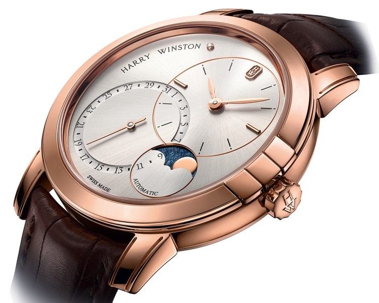 Harry Winston Midnight Date Moonphase Automatic 42 mm