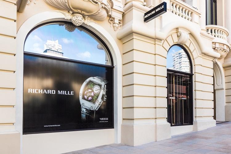 Richard Mille : ouverture d'une boutique à Monaco