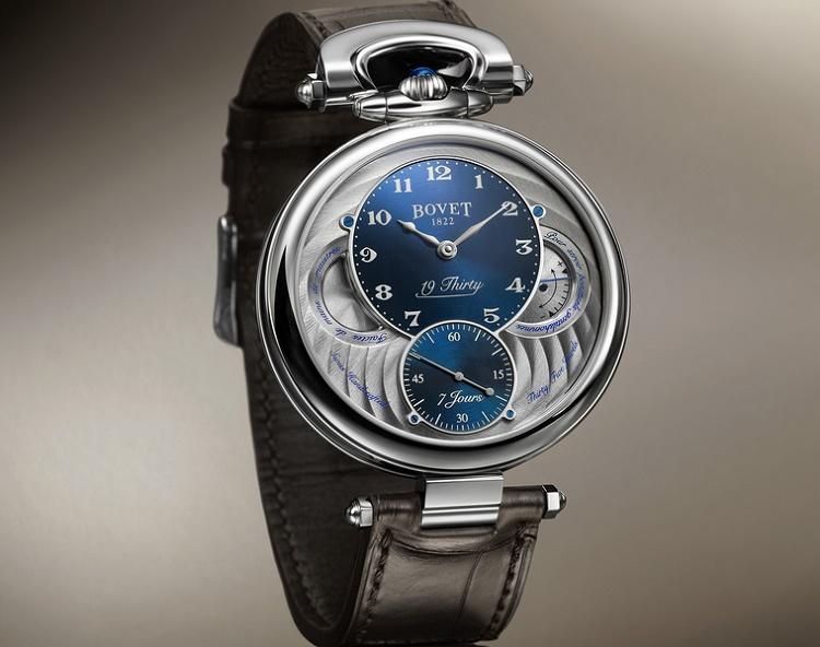 Bovet 19Thirty : montre charnière