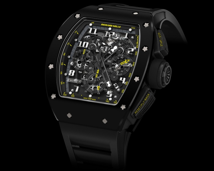 Richard Mille RM 011 Yellow Flash