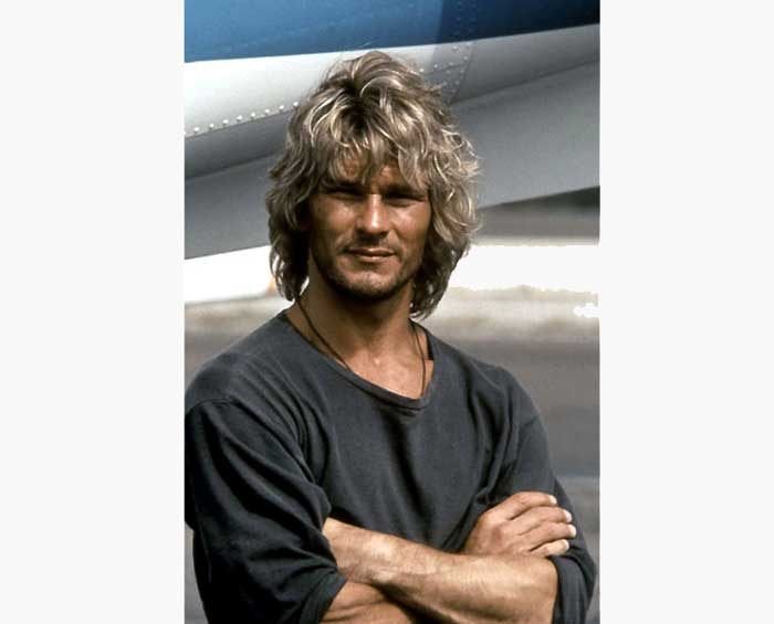 Point Break, Patrick Swayze, DR