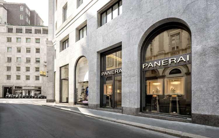 Milan : Panerai agrandit sa boutique avec l'aide de Patricia Urquiola
