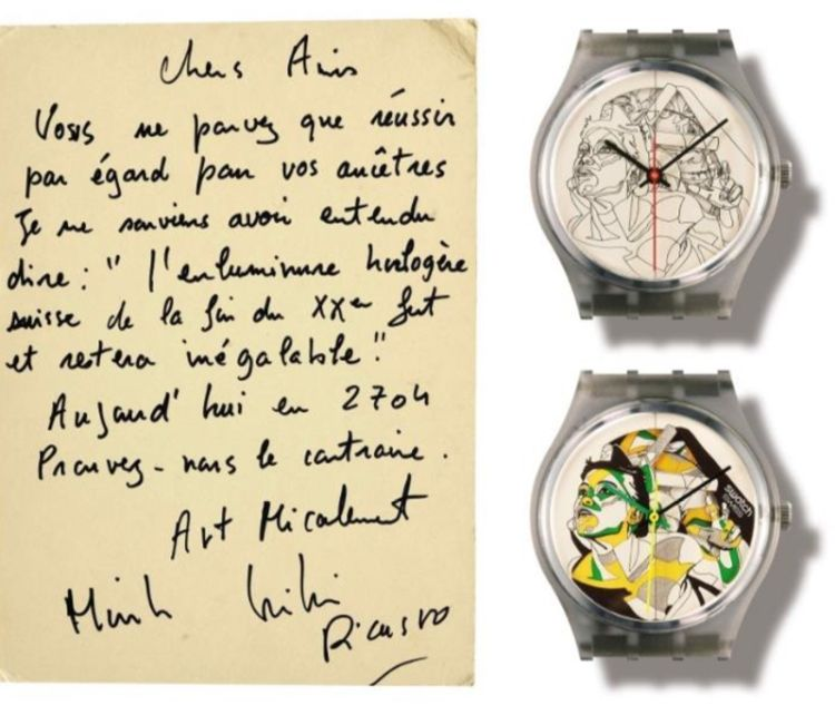 Swatch : grande vente Schmid & Muller le 10 novembre prochain à Genève