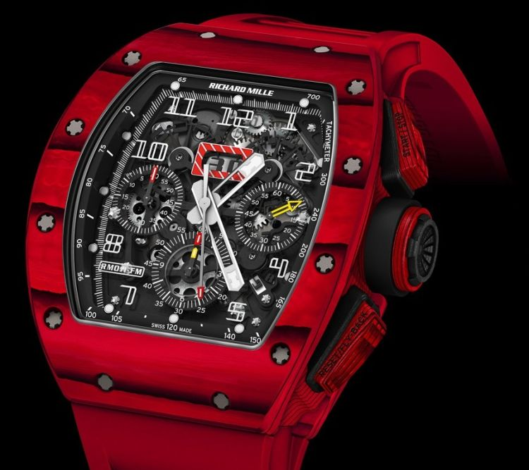 richard mille rm 011 quartz tpt rouge passion. Black Bedroom Furniture Sets. Home Design Ideas