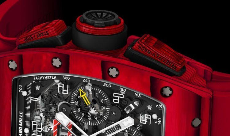 RM 011 Quartz TPT Red