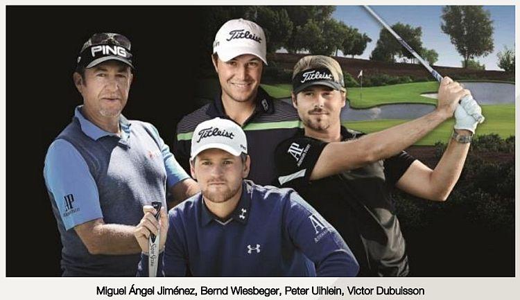 Audemars Piguet, chronométreur officiel de deux tournois de golf européens