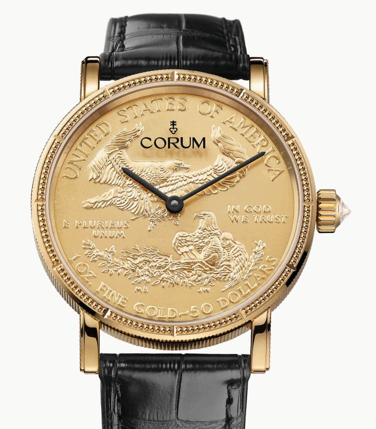 Corum Coin gold
