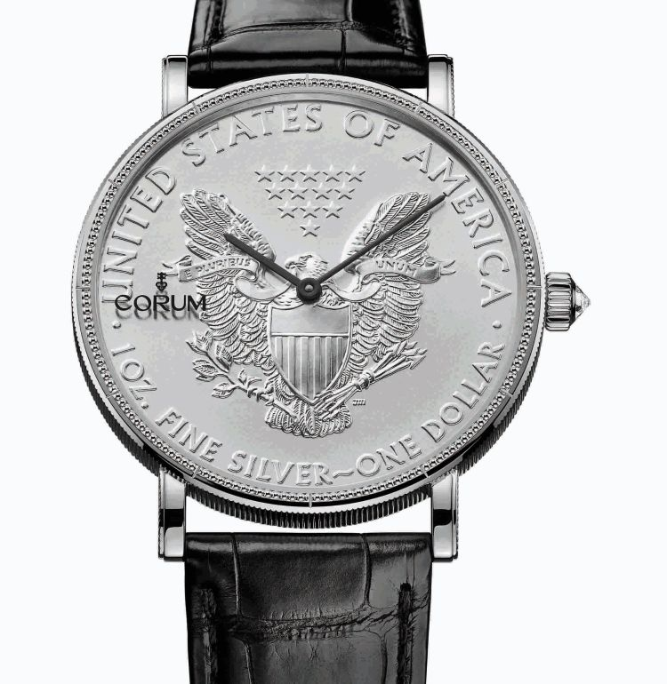 Corum Coin silver