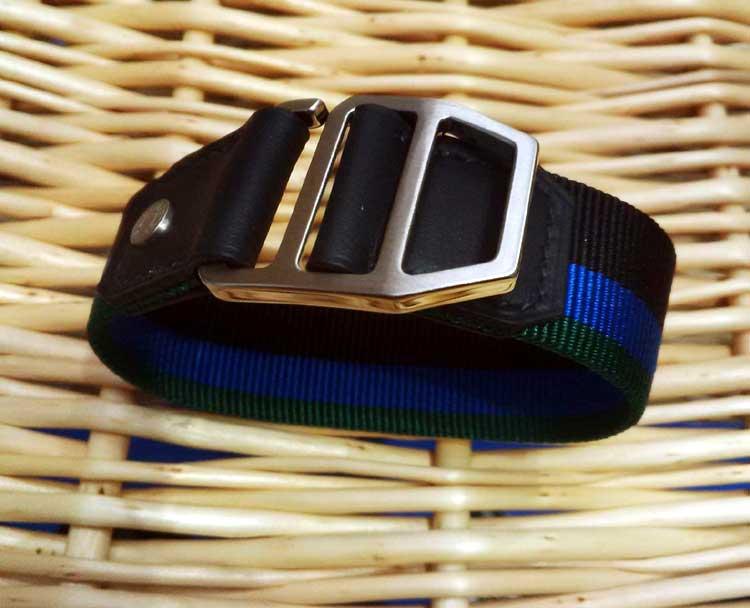 Hermès : un bracelet pour hommes façon Nato