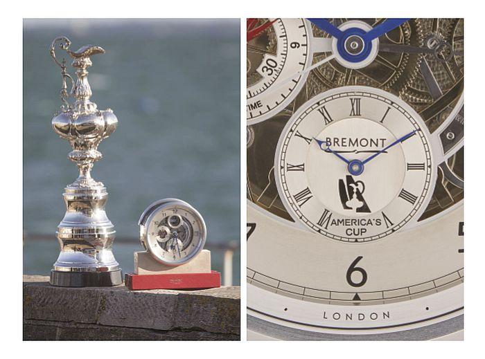 Bremont : un chronomètre de marine pour l'America's Cup