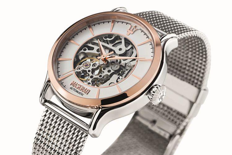 maserati epoca une montre squelette automatique moins de 400 euros. Black Bedroom Furniture Sets. Home Design Ideas