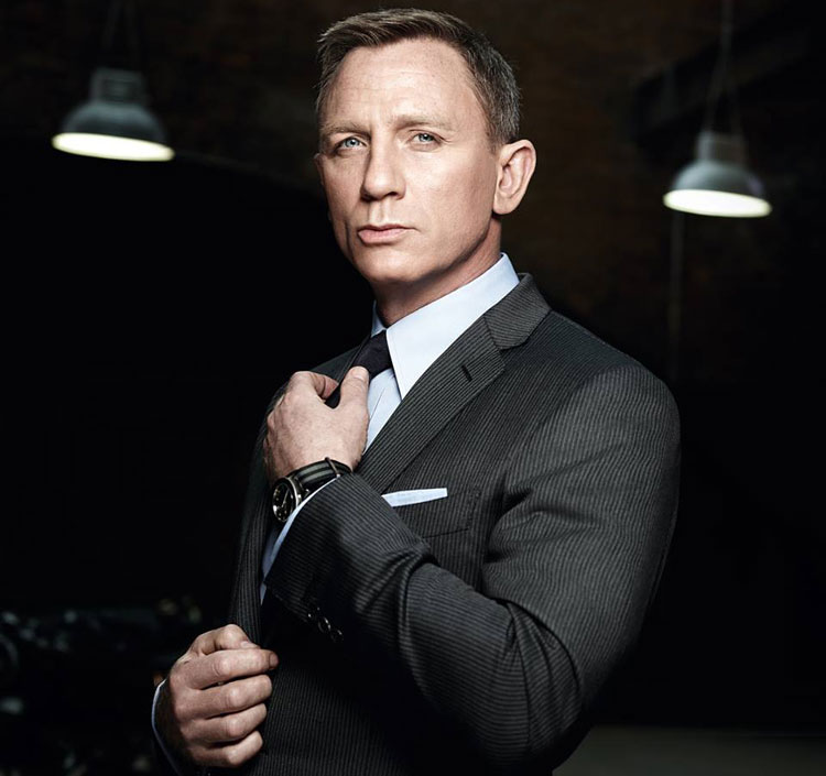 Daniel Craig James Bond dans Spectre
